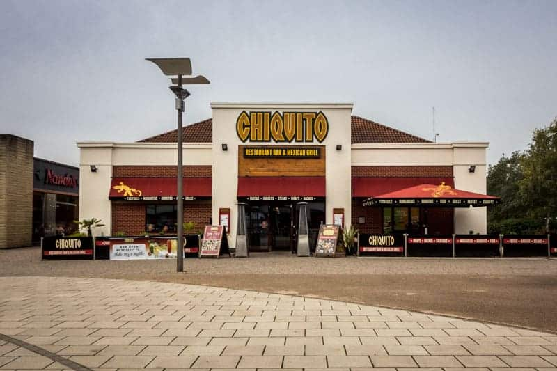 Chiquito restaurant at Ashton Leisure Park, Ashton-under-Lyne