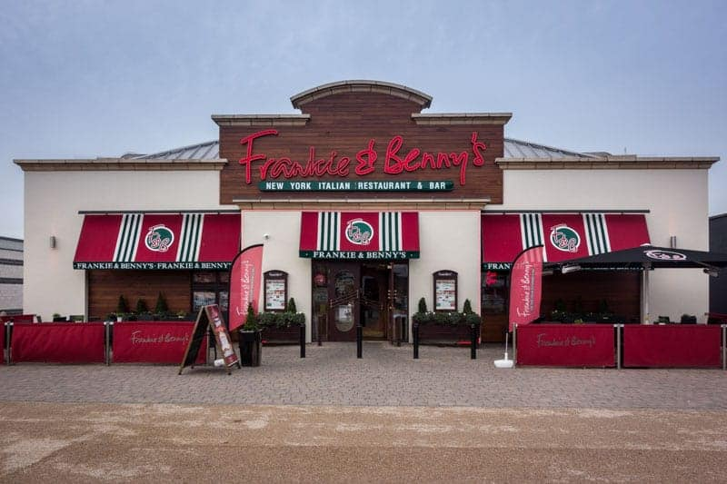 Frankie & Benny's restaurant at Ashton Leisure Park, Ashton-under-Lyne