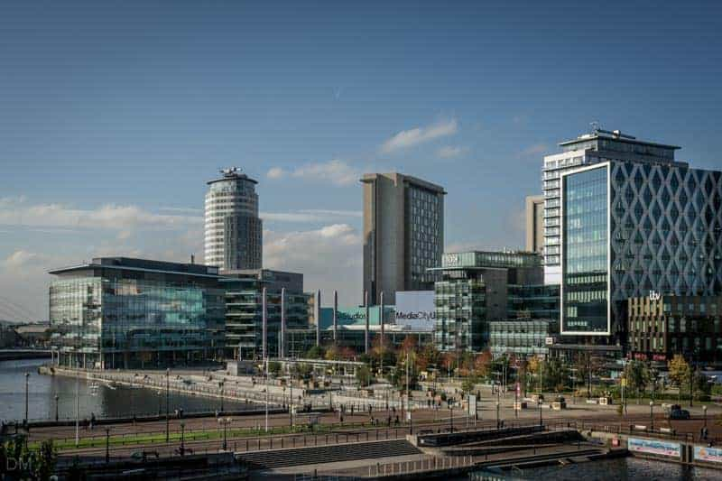 MediaCityUK, Salford, Greater Manchester