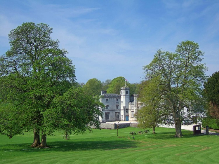 Leighton Hall, a stately home near Carnforth