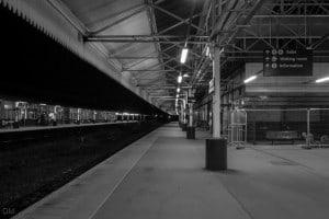 Platform 4 at Bolton Train Station