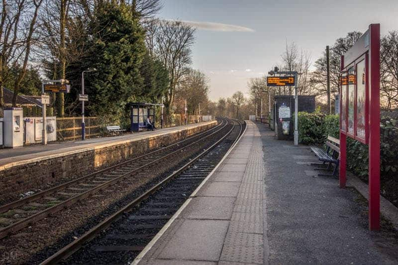 Platforms at Bromley Cross  Train Station in Bolton