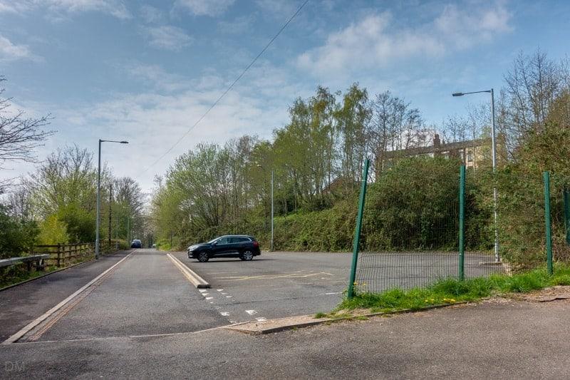 Car park at Kearsley Train Station