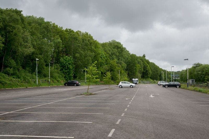 Car park and parking at Lostock Train Station in Bolton