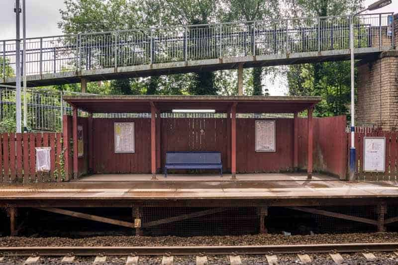 Shelter at Lostock Train Station