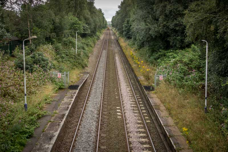 East Lancashire Line, Cherry Tree Train Station, Blackburn