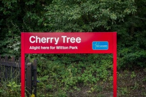 Cherry Tree Train Station, Blackburn, Lancashire