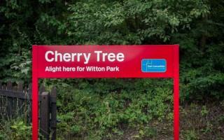 Cherry Tree Train Station, Blackburn, Lancashire
