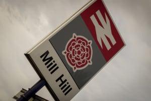 Mill Hill Train Station, Blackburn, Lancashire