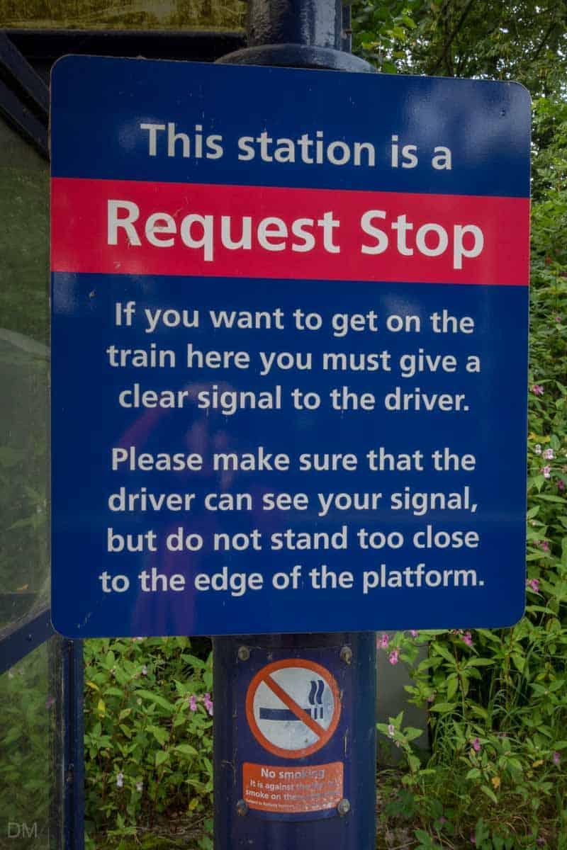 Pleasington Train Station is a request stop