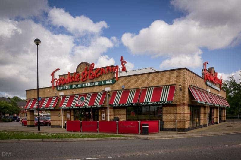 Frankie & Benny's at The Valley, Bolton