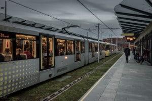 Deansgate-Castlefield Metrolink Station