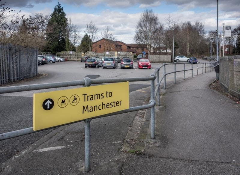 Car park at Stretford Metrolink Station