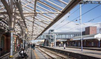 Altrincham Metrolink Station at Altrincham Interchange