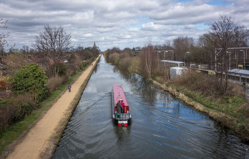 Boat on Bridgewater Canal, Timperley