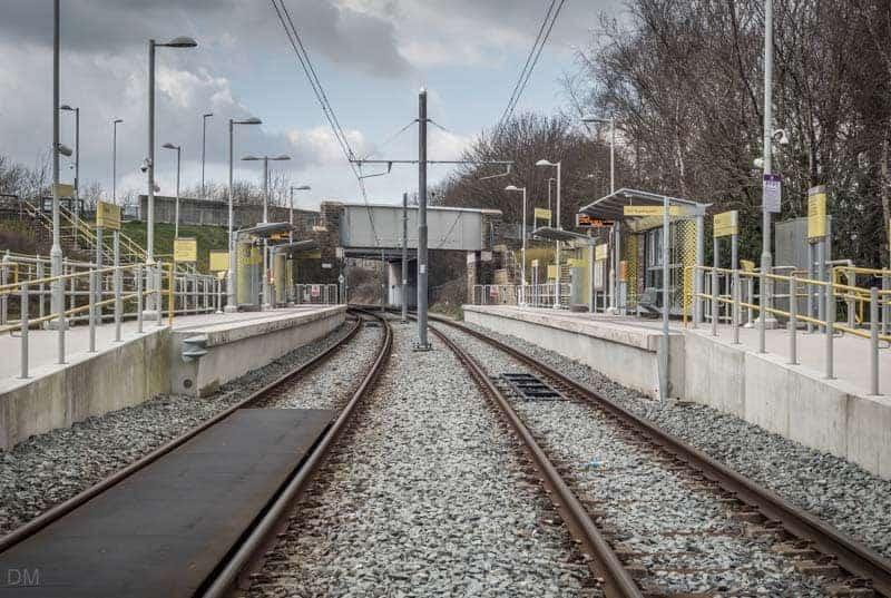 Milnrow Metrolink Station