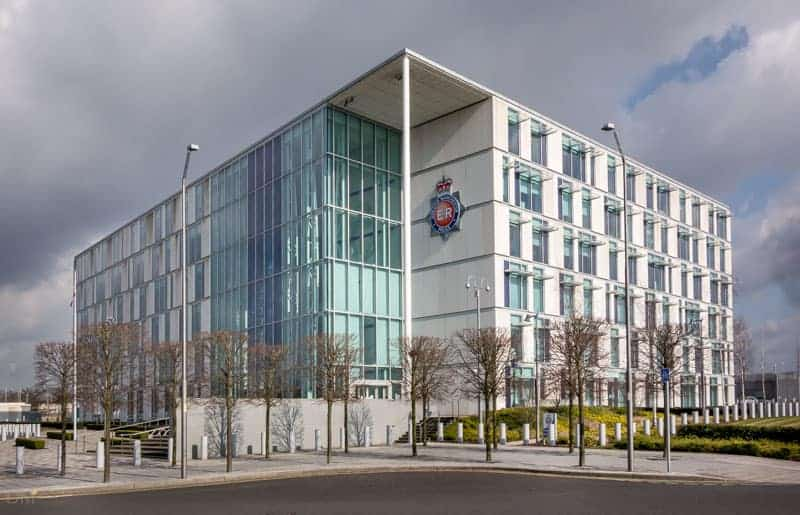 Greater Manchester Police Force Headquarters at Central Park, Manchester