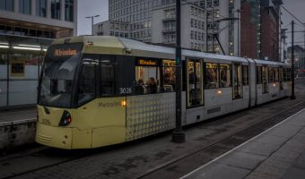 St Peter's Square Metrolink, Manchester, UK
