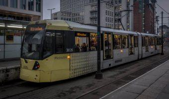 St Peter's Square Metrolink, Manchester, UK