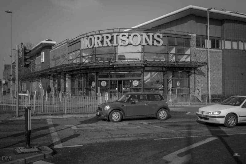 Morrisons superstore in Whitefield