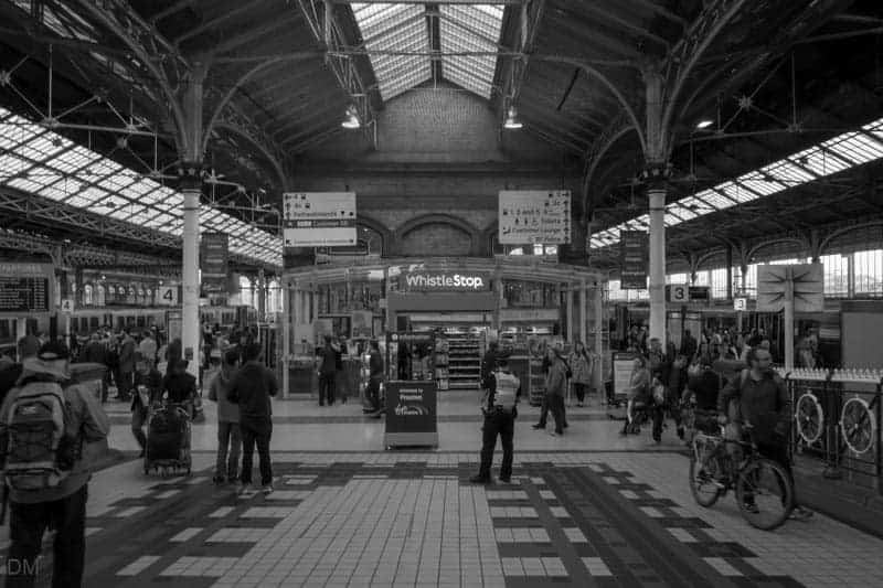Shop at Preston Train Station