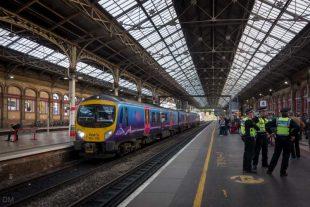 Train to Windermere at Preston Train Station