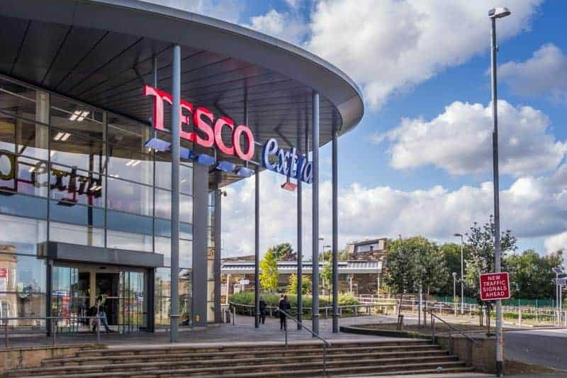 Tesco on Eagle Street in Accrington, Lancashire