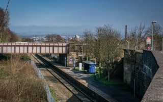 Burnley Barracks Train Station, East Lancashire Line, Burnley