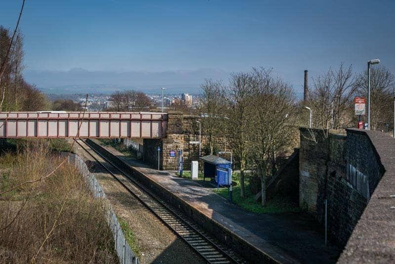 Burnley Barracks Train Station, East Lancashire Line, Burnley