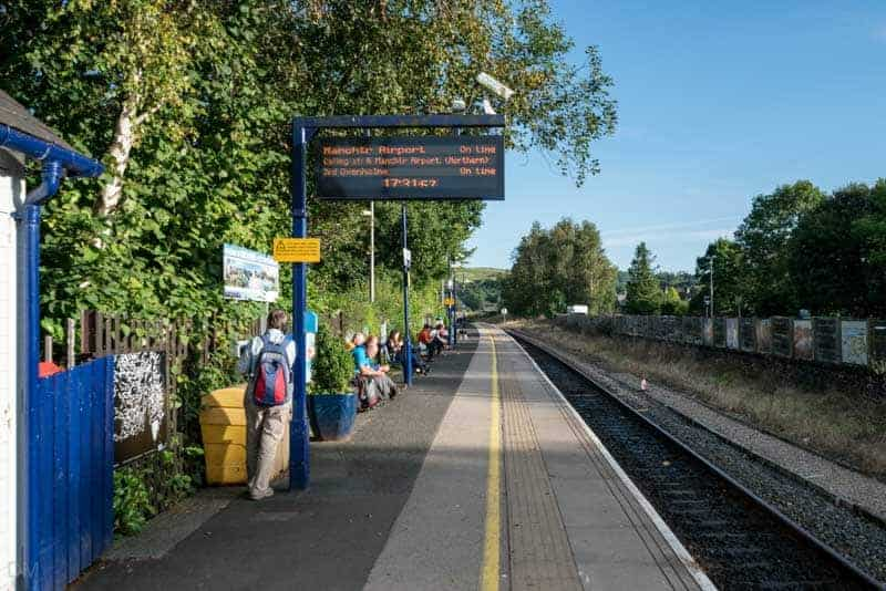 Platform at Windermere Train Station