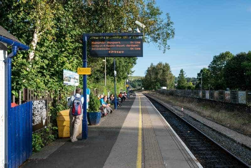 Platform at Windermere Train Station