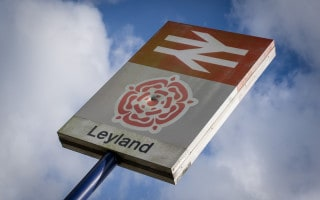 Leyland Train Station