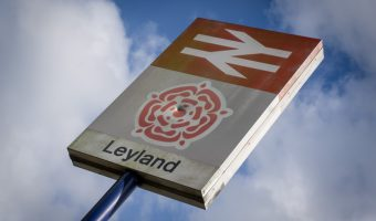 Leyland Train Station