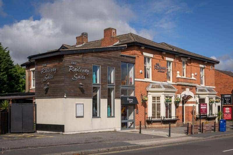 Railway pub on Preston Road in Leyland.