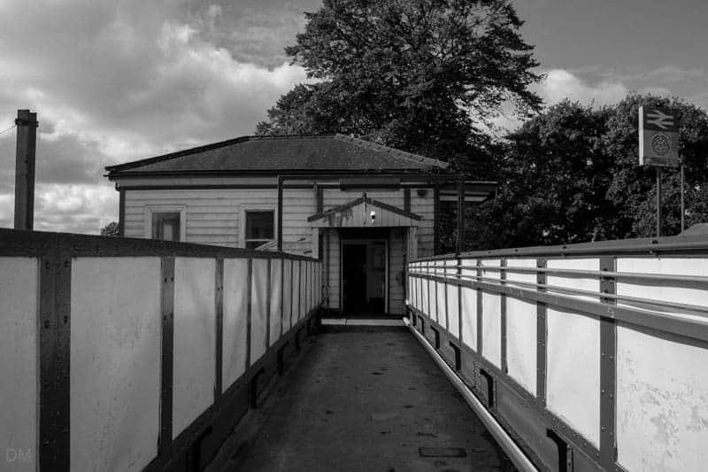 Footbridge at Leyland Train Station