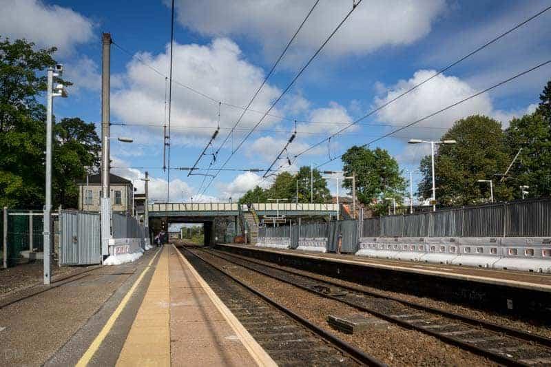 Platforms - Leyland Train Station