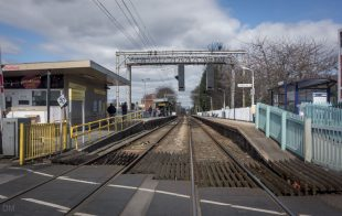 View of Navigation Road Train Station in Altrincham
