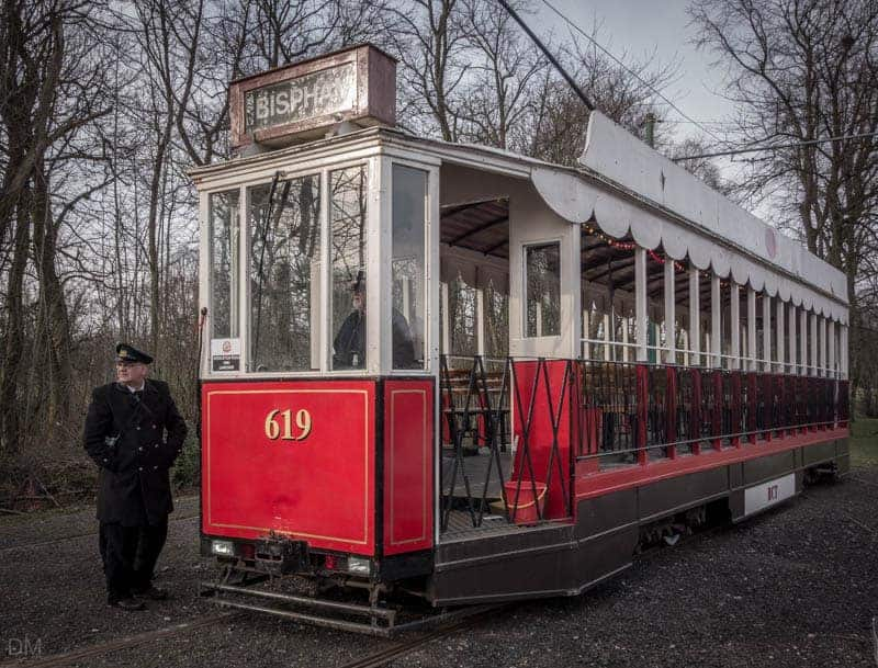 619 - Replica of a Blackpool and Fleetwood Vanguard tram, Heaton Park, Manchester