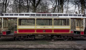 Manchester 765 tram at Heaton Park