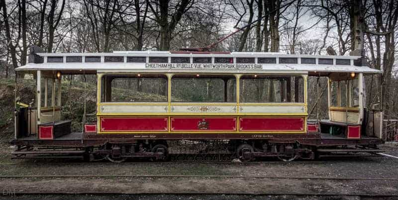 Manchester 765 tram at Heaton Park