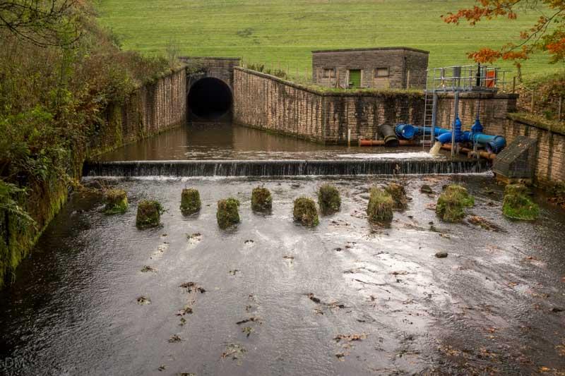 Dam at Jumbles Reservoir