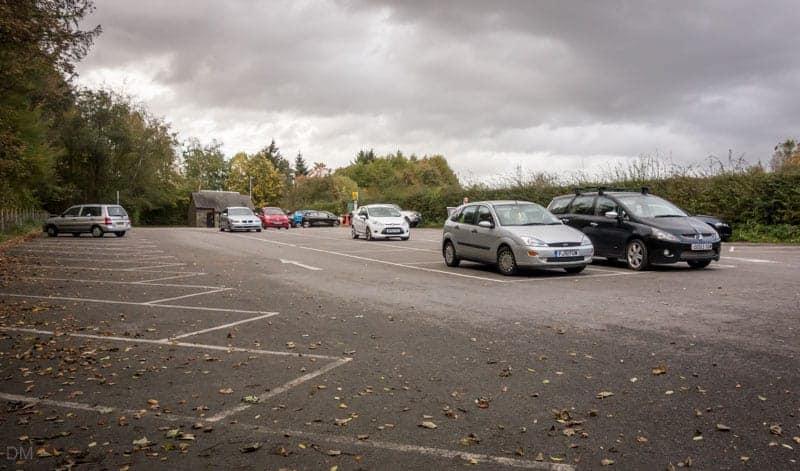 Car park at Jumbles Country Park, Bolton