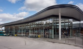 Altrincham Bus Station at Altrincham Interchange on Stamford New Road