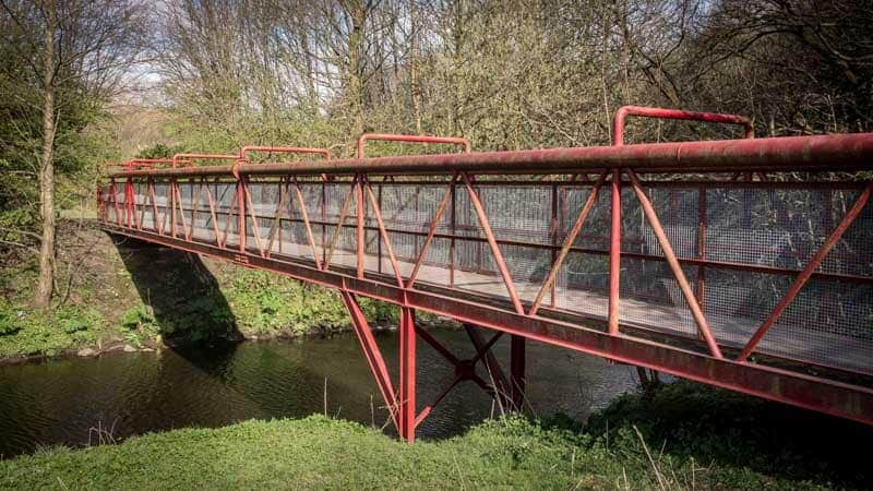 Red Bridge, River Croal, Moses Gate Country Park