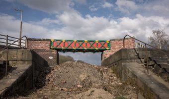 Meccano Bridge, Prestolee Locks, Bolton by Liam Curtin