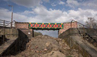 Meccano Bridge, Prestolee Locks, Bolton by Liam Curtin