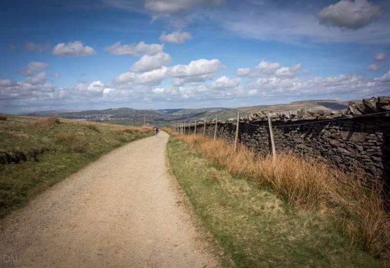 Track across Holcombe Moor