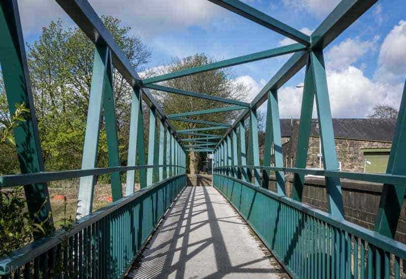 Footbridge, Stubbins Bridge
