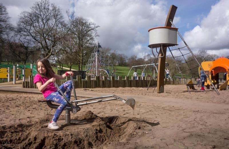 Playground sandpit