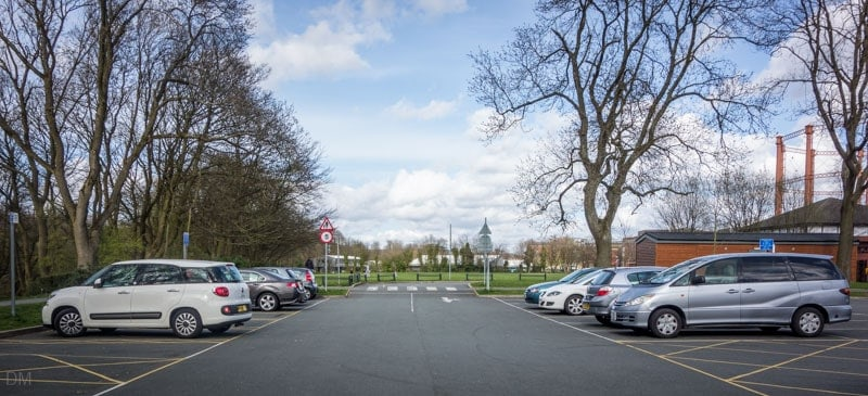 Car park on Spa Road, Queens Park, Bolton